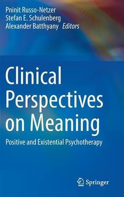 Clinical Perspectives on Meaning: Positive and Existential Psychotherapy (Hardback)