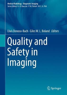 Quality and Safety in Imaging - Diagnostic Imaging (Hardback)
