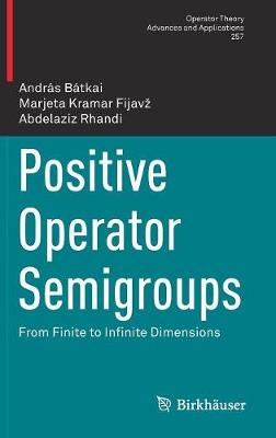 Positive Operator Semigroups: From Finite to Infinite Dimensions - Operator Theory: Advances and Applications 257 (Hardback)