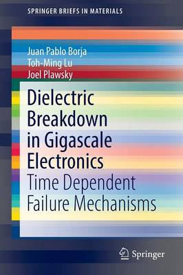 Dielectric Breakdown in Gigascale Electronics: Time Dependent Failure Mechanisms - SpringerBriefs in Materials (Paperback)
