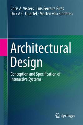Architectural Design: Conception and Specification of Interactive Systems (Hardback)