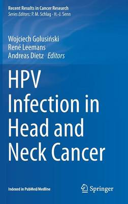 HPV Infection in Head and Neck Cancer - Recent Results in Cancer Research 206 (Hardback)