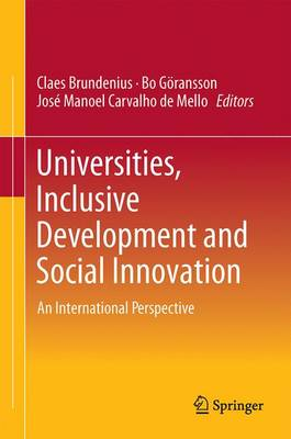 Universities, Inclusive Development and Social Innovation: An International Perspective (Hardback)