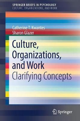 Culture, Organizations, and Work: Clarifying Concepts - Culture, Organizations, and Work (Paperback)