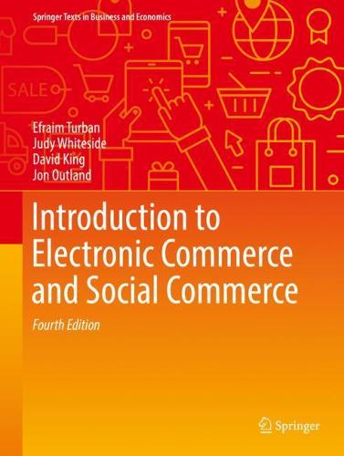 Introduction to Electronic Commerce and Social Commerce - Springer Texts in Business and Economics (Hardback)