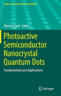 Photoactive Semiconductor Nanocrystal Quantum Dots: Fundamentals and Applications - Topics in Current Chemistry Collections (Hardback)