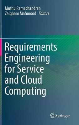 Requirements Engineering for Service and Cloud Computing (Hardback)