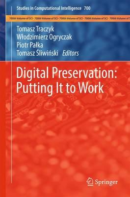 Digital Preservation: Putting It to Work - Studies in Computational Intelligence 700 (Hardback)