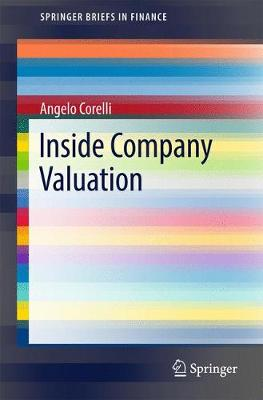 Inside Company Valuation - SpringerBriefs in Finance (Paperback)
