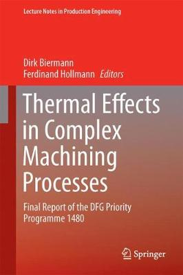 Thermal Effects in Complex Machining Processes: Final Report of the DFG Priority Programme 1480 - Lecture Notes in Production Engineering (Hardback)