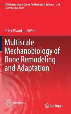 Multiscale Mechanobiology of Bone Remodeling and Adaptation - CISM International Centre for Mechanical Sciences 578 (Hardback)