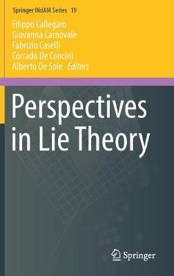 Perspectives in Lie Theory - Springer INdAM Series 19 (Hardback)