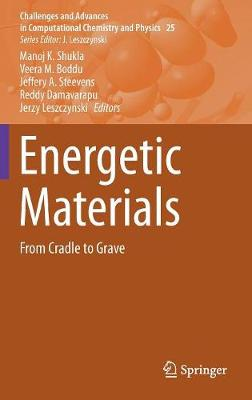 Energetic Materials: From Cradle to Grave - Challenges and Advances in Computational Chemistry and Physics 25 (Hardback)