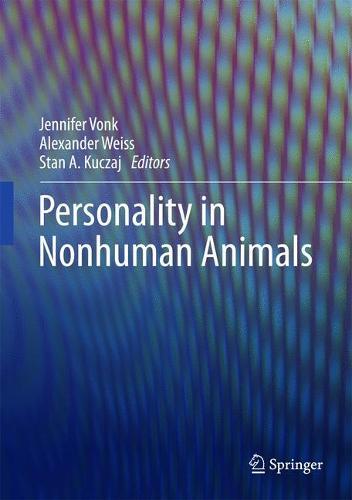 Personality in Nonhuman Animals (Hardback)