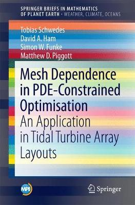 Mesh Dependence in PDE-Constrained Optimisation: An Application in Tidal Turbine Array Layouts - Mathematics of Planet Earth (Paperback)