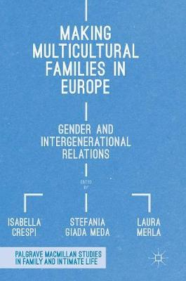 Making Multicultural Families in Europe: Gender and Intergenerational Relations - Palgrave Macmillan Studies in Family and Intimate Life (Hardback)