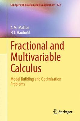 Fractional and Multivariable Calculus: Model Building and Optimization Problems - Springer Optimization and Its Applications 122 (Hardback)