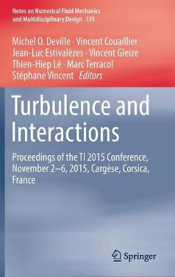 Turbulence and Interactions: Proceedings of the TI 2015 Conference, June 11-14, 2015, Cargese, Corsica, France - Notes on Numerical Fluid Mechanics and Multidisciplinary Design 135 (Hardback)