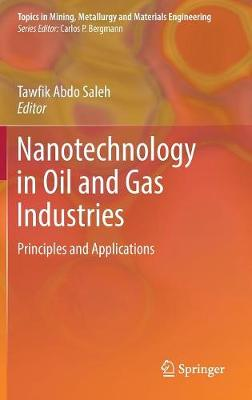 Nanotechnology in Oil and Gas Industries: Principles and Applications - Topics in Mining, Metallurgy and Materials Engineering (Hardback)
