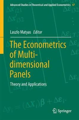 The Econometrics of Multi-dimensional Panels: Theory and Applications - Advanced Studies in Theoretical and Applied Econometrics 50 (Hardback)