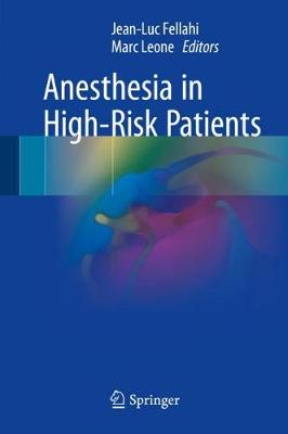 Anesthesia in High-Risk Patients (Hardback)