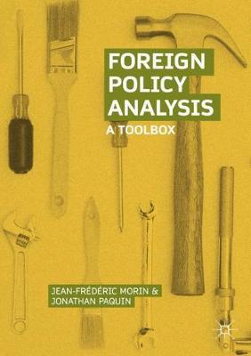 Foreign Policy Analysis: A Toolbox (Paperback)