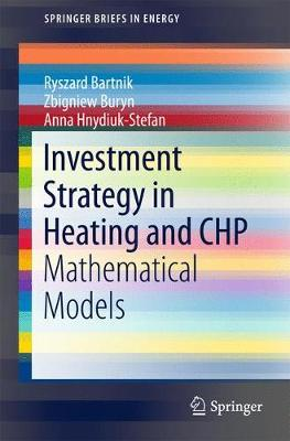 Investment Strategy in Heating and CHP: Mathematical Models - SpringerBriefs in Energy (Paperback)
