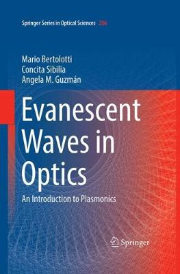 Evanescent Waves in Optics: An Introduction to Plasmonics - Springer Series in Optical Sciences 206 (Hardback)
