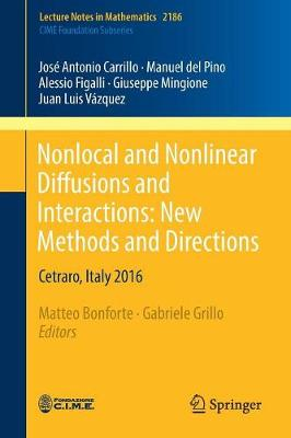 Nonlocal and Nonlinear Diffusions and Interactions: New Methods and Directions: Cetraro, Italy 2016 - C.I.M.E. Foundation Subseries 2186 (Paperback)