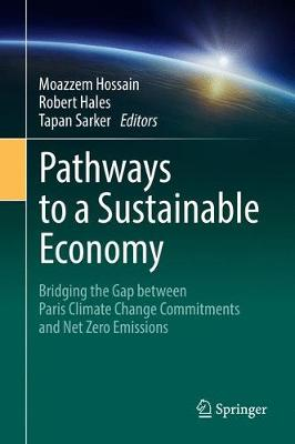 Pathways to a Sustainable Economy: Bridging the Gap between Paris Climate Change Commitments and Net Zero Emissions (Hardback)