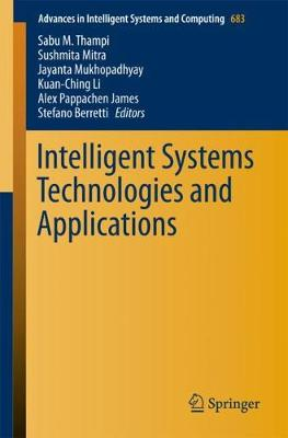 Intelligent Systems Technologies and Applications - Advances in Intelligent Systems and Computing 683 (Paperback)