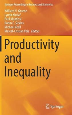 Productivity and Inequality - Springer Proceedings in Business and Economics (Hardback)