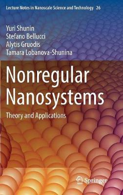 Nonregular Nanosystems: Theory and Applications - Lecture Notes in Nanoscale Science and Technology 26 (Hardback)