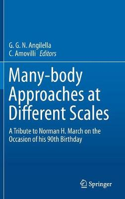 Many-body Approaches at Different Scales: A Tribute to Norman H. March on the Occasion of his 90th Birthday (Hardback)
