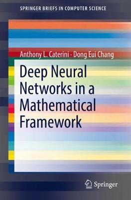 Deep Neural Networks in a Mathematical Framework - SpringerBriefs in Computer Science (Paperback)