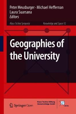 Geographies of the University - Knowledge and Space 12 (Hardback)