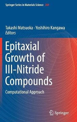 Epitaxial Growth of III-Nitride Compounds: Computational Approach - Springer Series in Materials Science 269 (Hardback)