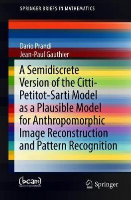 A Semidiscrete Version of the Citti-Petitot-Sarti Model as a Plausible Model for Anthropomorphic Image Reconstruction and Pattern Recognition - SpringerBriefs in Mathematics (Paperback)