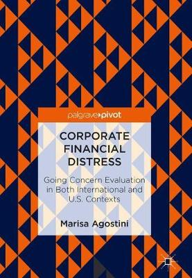 Corporate Financial Distress: Going Concern Evaluation in Both International and U.S. Contexts (Hardback)