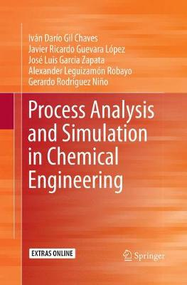 Process Analysis and Simulation in Chemical Engineering (Paperback)
