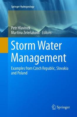 Storm Water Management: Examples from Czech Republic, Slovakia and Poland - Springer Hydrogeology (Paperback)