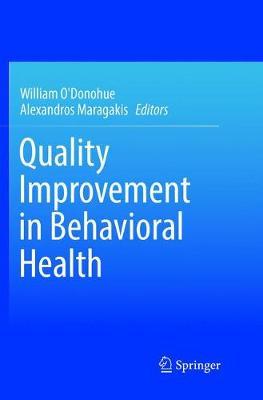 Quality Improvement in Behavioral Health (Paperback)