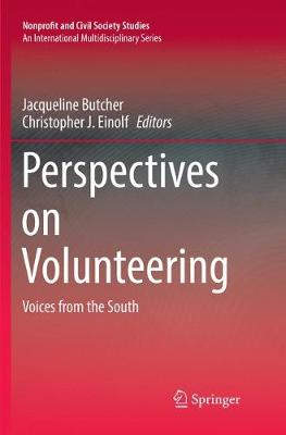 Perspectives on Volunteering: Voices from the South - Nonprofit and Civil Society Studies (Paperback)