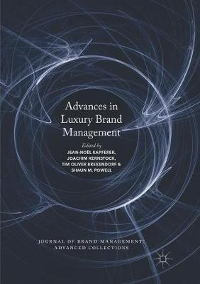 Advances in Luxury Brand Management - Journal of Brand Management: Advanced Collections (Paperback)