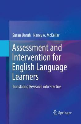 Assessment and Intervention for English Language Learners: Translating Research into Practice (Paperback)