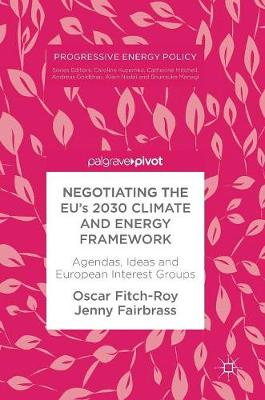 Negotiating the EU's 2030 Climate and Energy Framework: Agendas, Ideas and European Interest Groups - Progressive Energy Policy (Hardback)