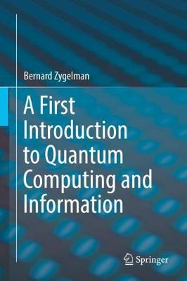 A First Introduction to Quantum Computing and Information (Hardback)
