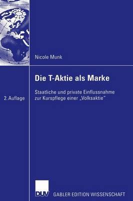 Die T-Aktie als Marke (Paperback)