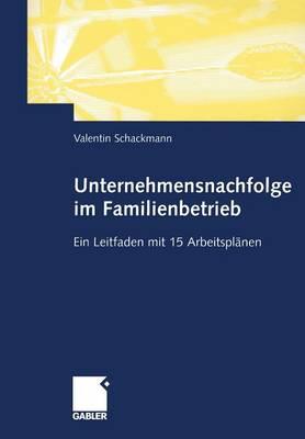 Unternehmensnachfolge im Familienbetrieb (Paperback)