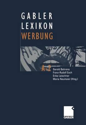 Gabler Lexikon Werbung (Paperback)